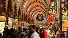 Misir Carsisi Eminonu Ä°stanbul Turquía almacen de metraje de vídeo
