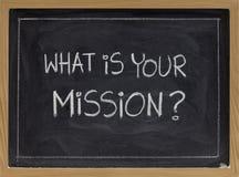 misja co twój Zdjęcie Stock