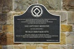Misja San Jose y San Miguel De Aguayo w San Antonio, Teksas Zdjęcia Stock
