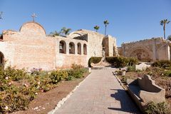 Misja San Juan Capistrano Zdjęcie Stock