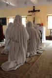 Misjonarzi dobroczynność w kaplicie Matkują dom, Kolkata Obrazy Stock