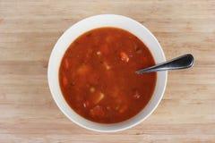 miskę zupy fotografia stock
