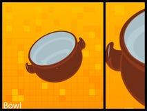 miskę zupy royalty ilustracja