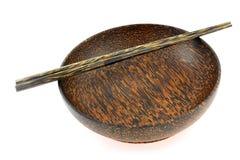 miska drewna Obraz Stock