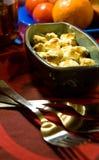 miska gotować grzyby Zdjęcia Royalty Free