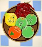 miska owoców Obraz Stock