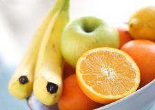 miska owoców Obrazy Royalty Free