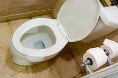 miska toaleta Obrazy Stock