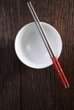 miski chopstick Obraz Stock