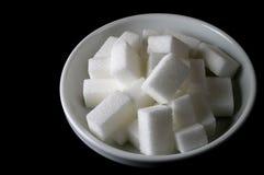 miski cukru Zdjęcia Royalty Free