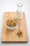 miski granola Obrazy Royalty Free