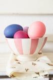miski Wielkanoc jaj Zdjęcia Stock