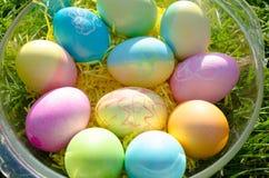 miski Wielkanoc jaj Zdjęcie Royalty Free