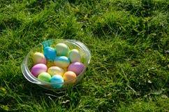 miski Wielkanoc jaj Zdjęcia Royalty Free