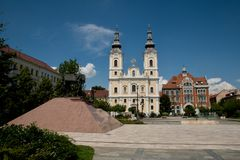 Miskolc Heroes square Stock Images