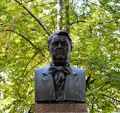 Mislukking in het park van Mihail Sadoveanu, Chisinau, Moldavië stock foto's