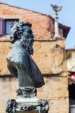 Mislukking van Benvenuto Cellini in Florence, Italië Stock Afbeeldingen