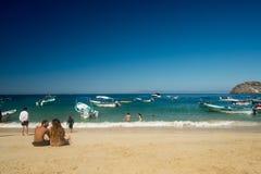 Mismaloya plaża w Jalisco Meksyk obrazy stock