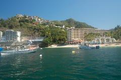 Mismaloya strand i Jalisco Mexico royaltyfria bilder
