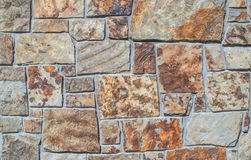 Mismatched Brick Wall - Grey and Orange. Creative brick pattern. Usually used for exterior surfaces, kitchens, walls, bathrooms and floors. Orange accents create royalty free stock photos