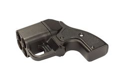 Mismo pistola imagen de archivo
