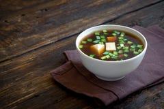 Miso σούπα στοκ φωτογραφίες