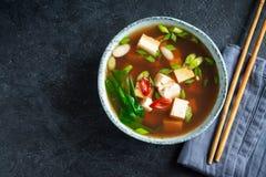 Miso σούπα στοκ εικόνα με δικαίωμα ελεύθερης χρήσης