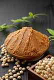 MISO giapponese della pasta della soia Fotografie Stock