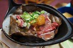 Miso Gifu, comida japonesa de Hoba Fotografía de archivo