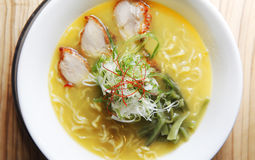 Miso ramen Stock Photo