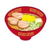 Miso Ramen Noodles Stock Photos