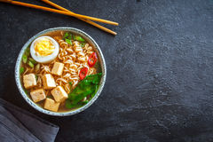Miso ramen soup Stock Photography