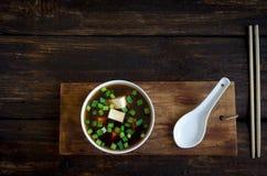 Miso soep royalty-vrije stock foto's
