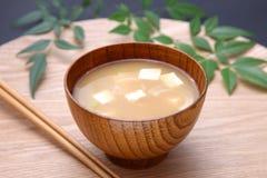 Miso soep stock foto