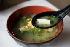 Miso soep Stock Afbeeldingen