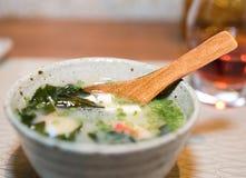 Miso soup Royalty Free Stock Photos