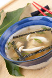 Miso soup Stock Images