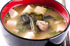 Miso soup Stock Photos