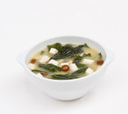 Miso soup Royalty Free Stock Photo