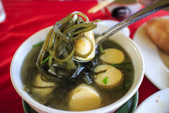 Miso soup. Another type of Asian food Stock Photos