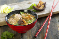 Miso soup. Royalty Free Stock Photo