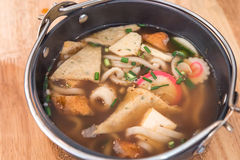 Miso Soup Udon Stock Photography