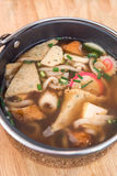 Miso Soup Udon Royalty Free Stock Photography