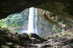 Misol Ha waterfall on Chiapas Stock Photos