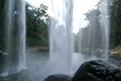 Misol Ha waterfall on Chiapas Royalty Free Stock Image