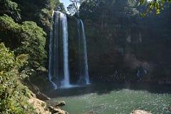 Misol-Ha waterfall, Chiapas, Mexico, Stock Photos