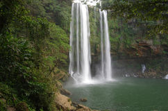 Misol Ha waterfall Royalty Free Stock Photos