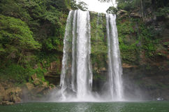 Misol Ha waterfall Stock Photography