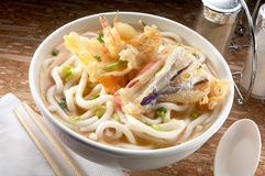 Misosiro noodle soup Royalty Free Stock Photos