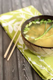 Misosuppe stockfotografie